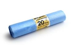 Roskakassi sangallinen 20L sininen 25kpl