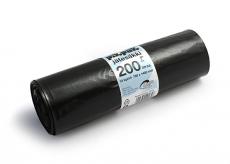Jätesäkki 200L musta 0,06mm 10kpl