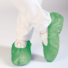 Kengänsuojus HYGOMAT CPE vihreä 1100kpl