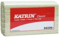 Katrin C-taitto käsipyyhe keltainen 100kpl