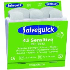 Salvequick herkänihonlaastari 43kpl