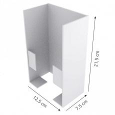 Seinäteline käsinerasioille 1-os metalli
