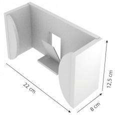 Seinäteline käsinerasioille Flex