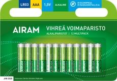 Airam Alkaline Paristo AAA 1,5V - 1kpl