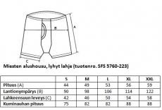 Miesten Alushousut lyhyt lahje SFS 5760