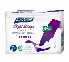 Vuokkoset Slim Night Wings 9 ohutside
