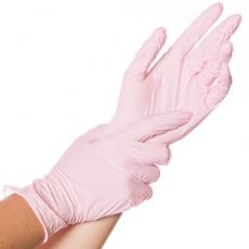Nitriili SAFE LIGHT koko L pinkki 100kpl