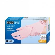 Nitriili SAFE LIGHT koko M pinkki 100kpl