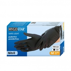 Nitriili SAFE LIGHT koko M musta 100kpl