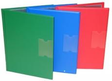 Potilaskansio 10-siv. muovi eri värejä