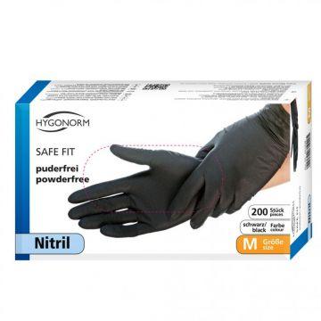 Nitriili SAFE FIT koko M musta 200kpl