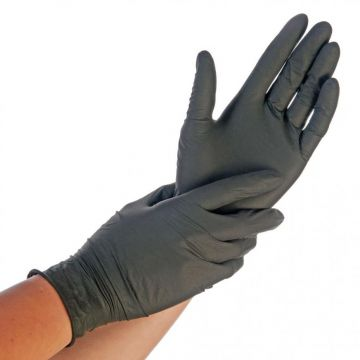 Nitriili SAFE FIT koko XL musta 200kpl